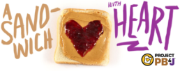 Project PB&J | Sandwich with heart!