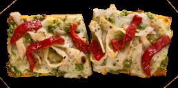 Chicken Pesto Pizzawich