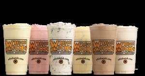 which wich milk shakes