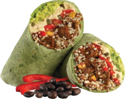which wich superfood spinach wrap