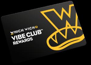 Vibe Club Rewards Card