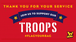 Flag Your Bag   Thank You For Your Service