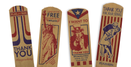 Four Flag Your Bag Drawings   Which Wich
